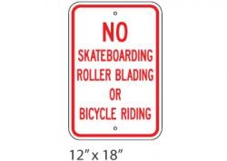 No Skate/Bike/Blade
