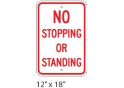 No Stopping/Standing