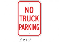 No Truck Parking