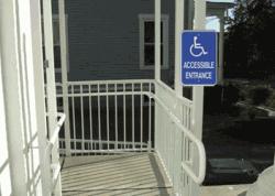 Handicap Access Entrance