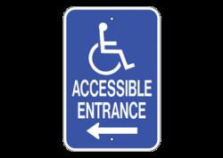 Handicap Entrance Left