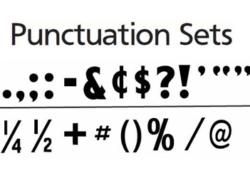 Punctuation Sets