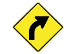Slight Right Turn