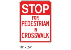 Stop For Pedestrians
