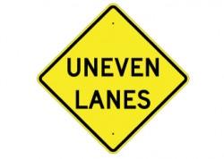 Uneven Lanes