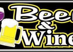 Beer & Wine Sign
