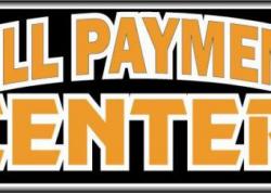 Bill Payment Center Sign