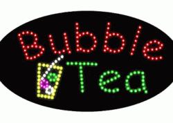 Bubble Tea Oval LED