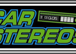 Car Stereos Sign