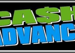 Cash Advance Sign