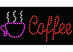 Coffee Red LED