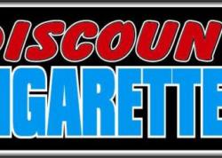 Discount Cigarettes Sign