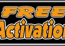 Free Activation Sign
