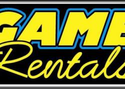 Game Rentals Sign