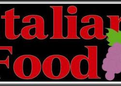 Italian Food Sign