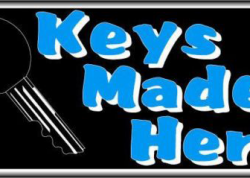 Keys Made Here Sign