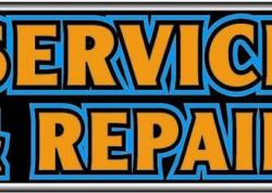 Service & Repair Sign