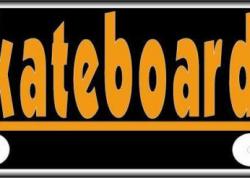 Skateboards Sign