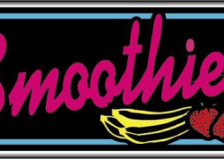 Smoothies Sign