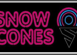 Snow Cones Sign