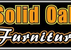 Solid Oak Furniture Sign