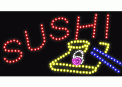 Sushi Plate LED