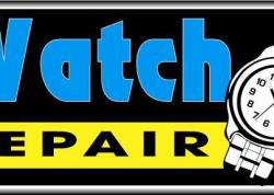 Watch Repair Sign