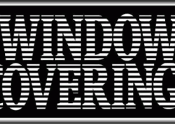 Window Coverings Sign