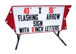 Flashing Arrow Body Sign