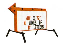 Standard Arrow Sign