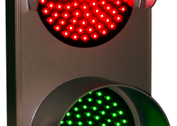 LED Double Hooded Dots